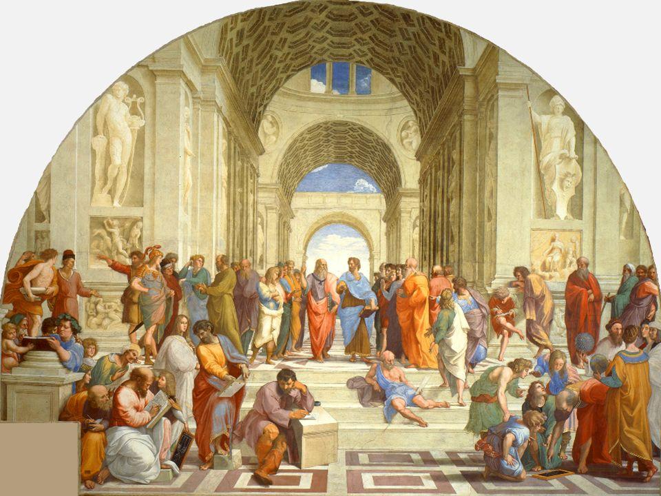 'De School van Athene', fresco van Rafaël, 1509-1510.