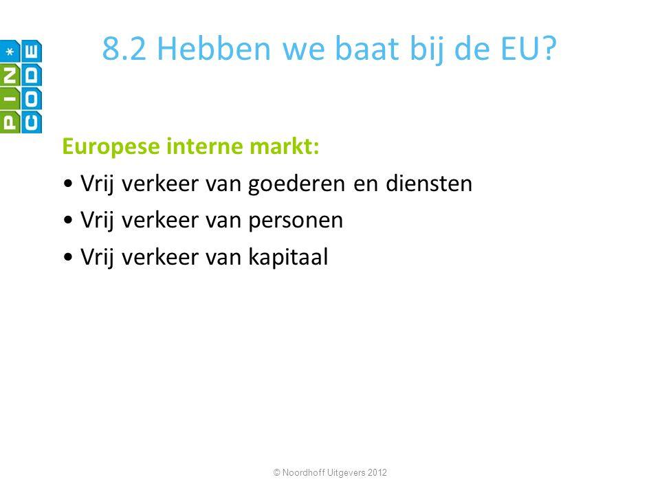 8.2 Hebben we baat bij de EU Europese interne markt: