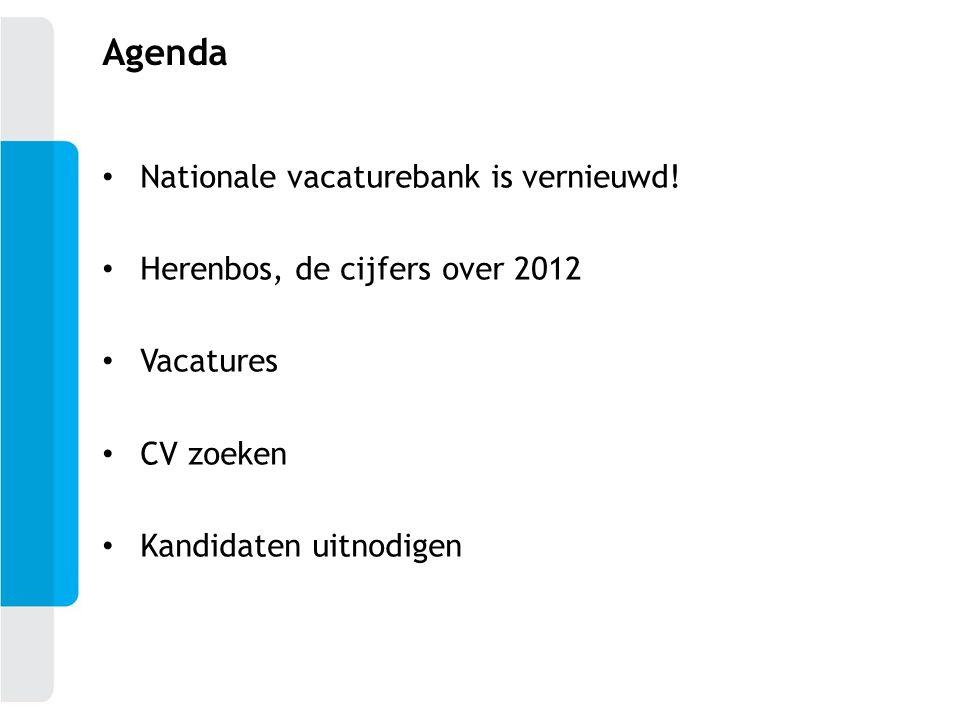 Agenda Nationale vacaturebank is vernieuwd!
