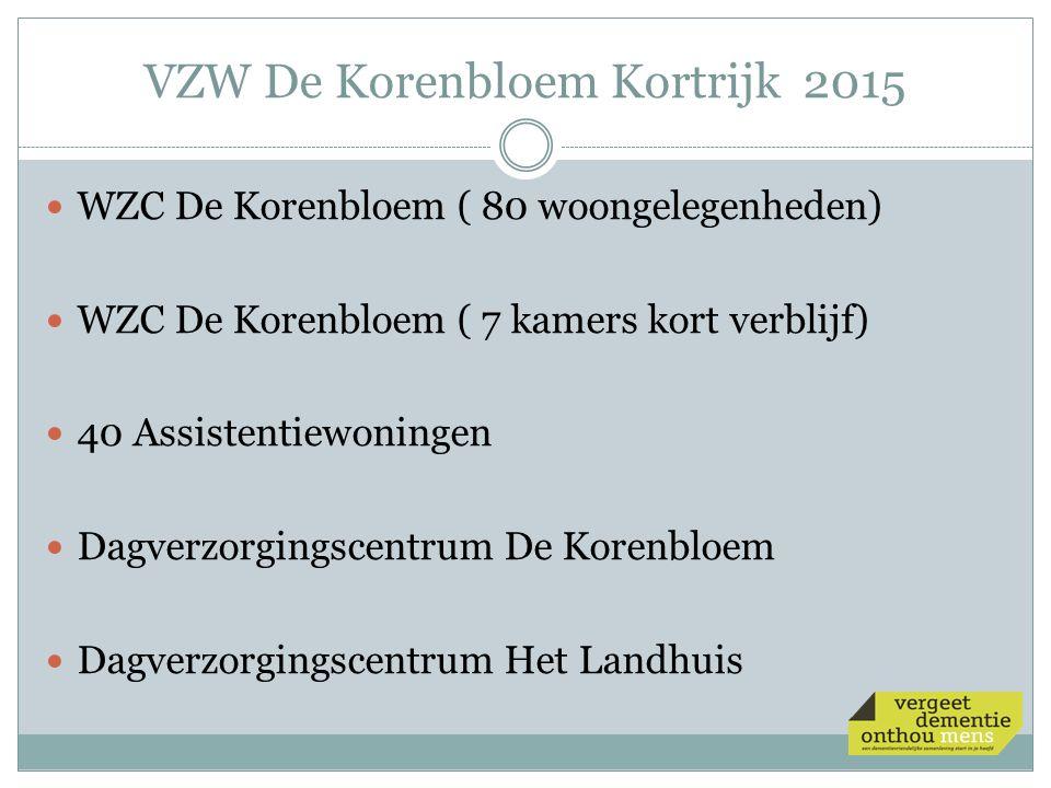 VZW De Korenbloem Kortrijk 2015