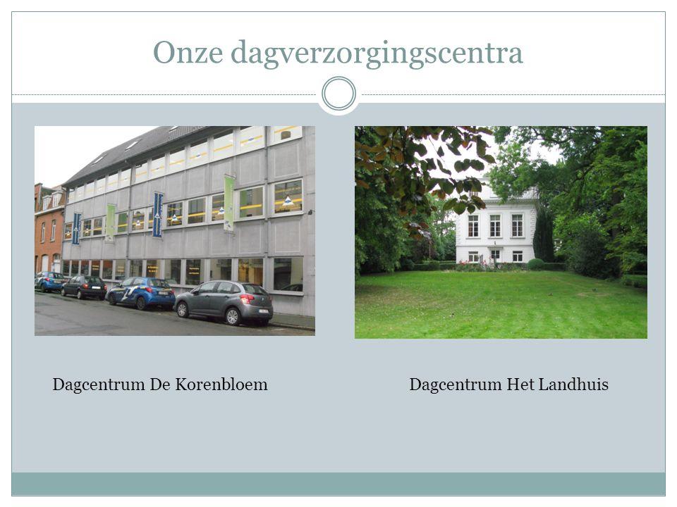 Onze dagverzorgingscentra