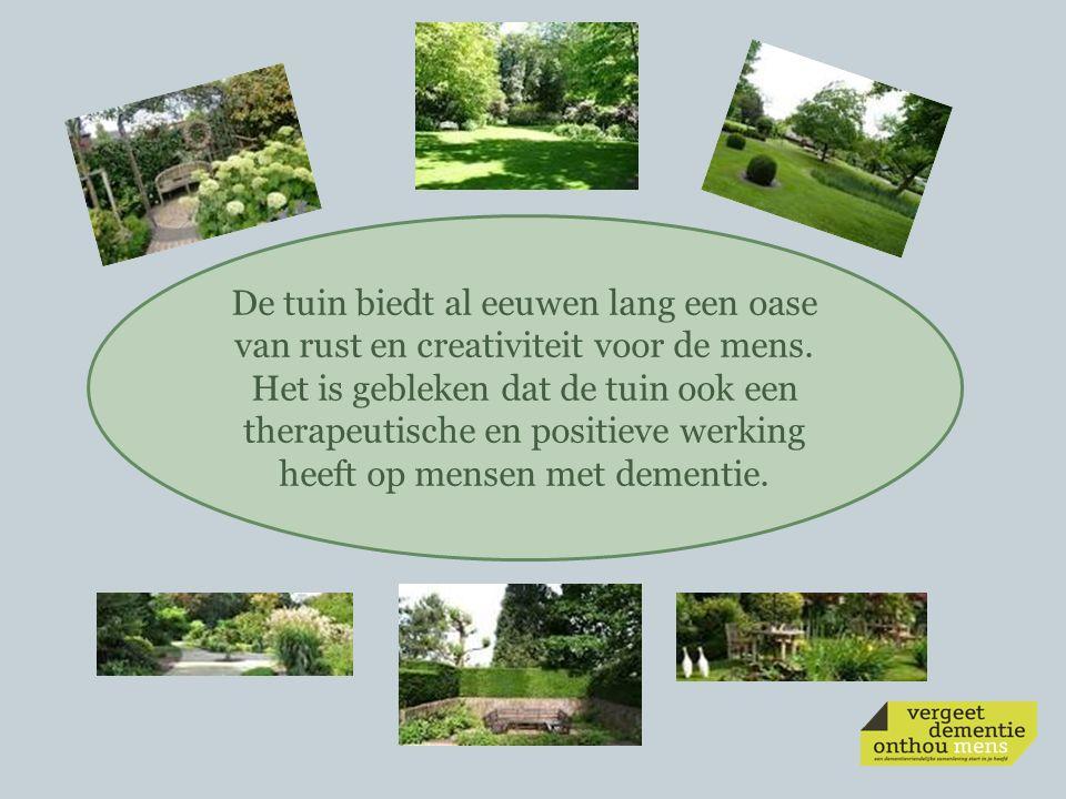 De tuin biedt al eeuwen lang een oase van rust en creativiteit voor de mens.