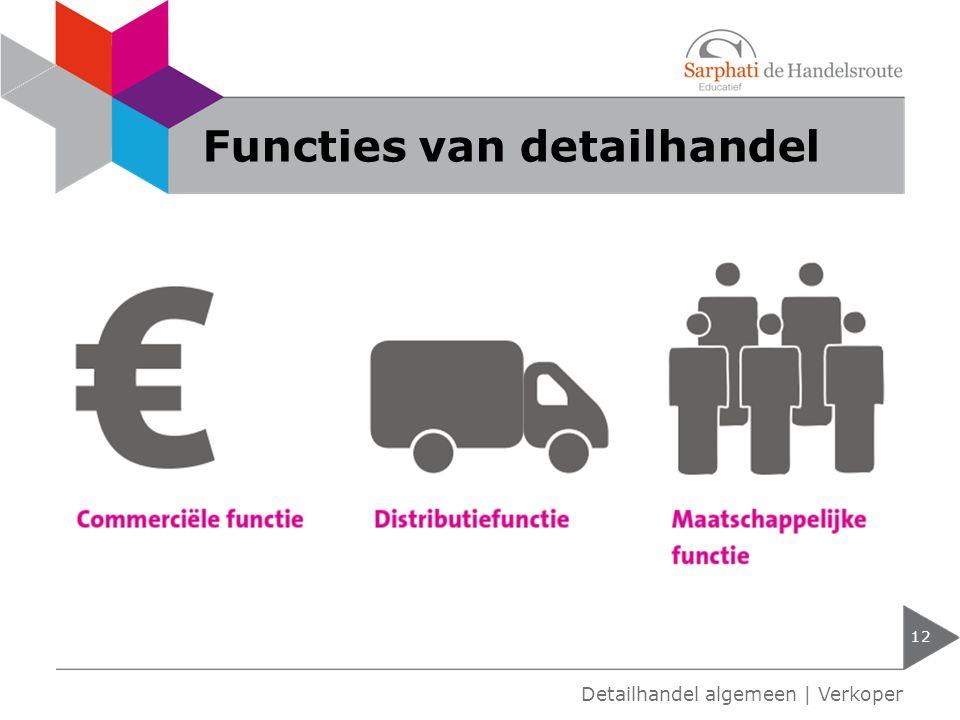 Functies van detailhandel
