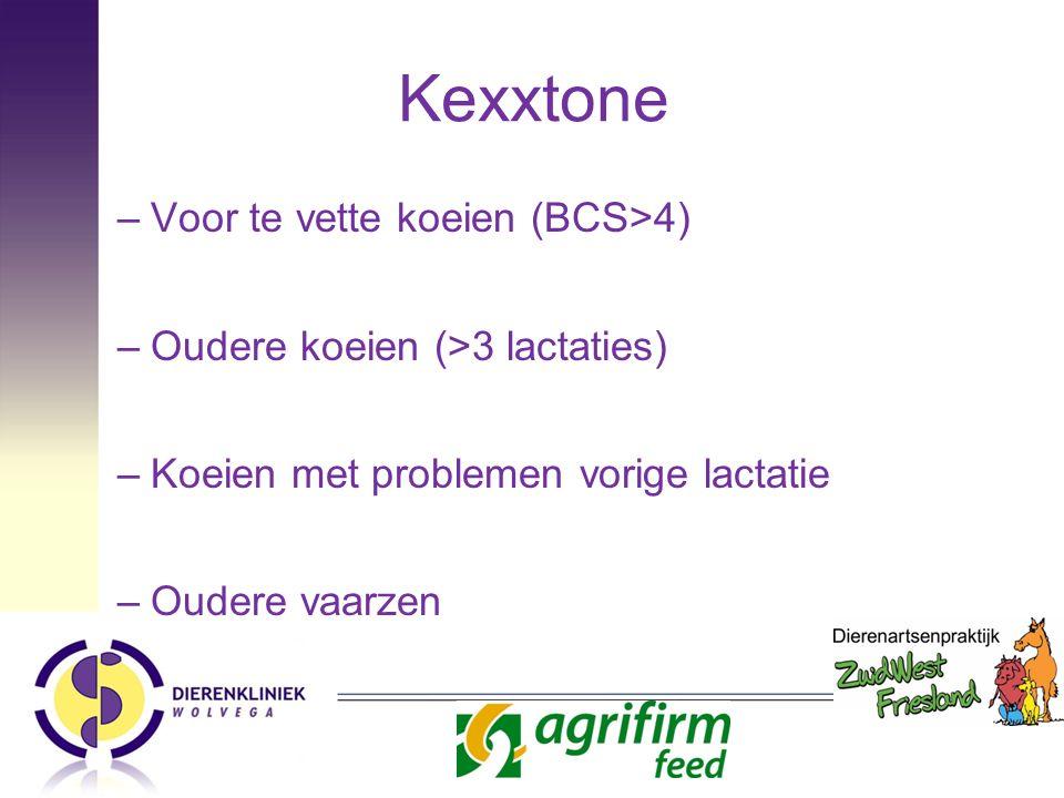 Kexxtone Voor te vette koeien (BCS>4)