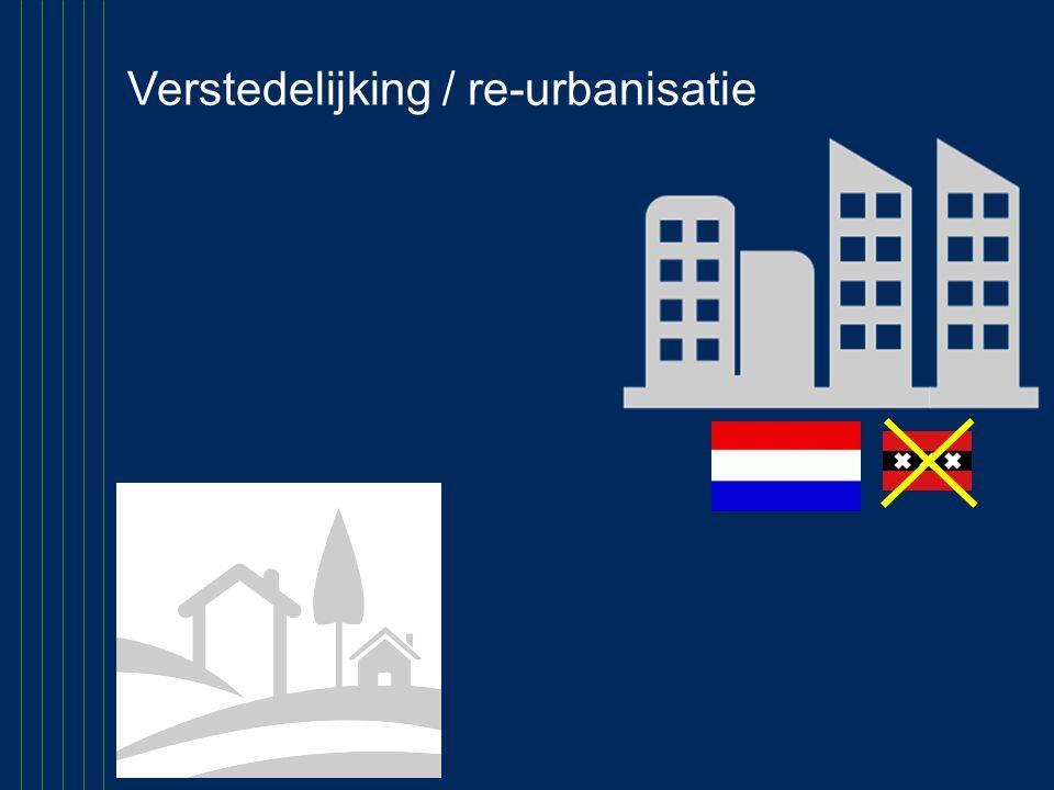 Verstedelijking / re-urbanisatie