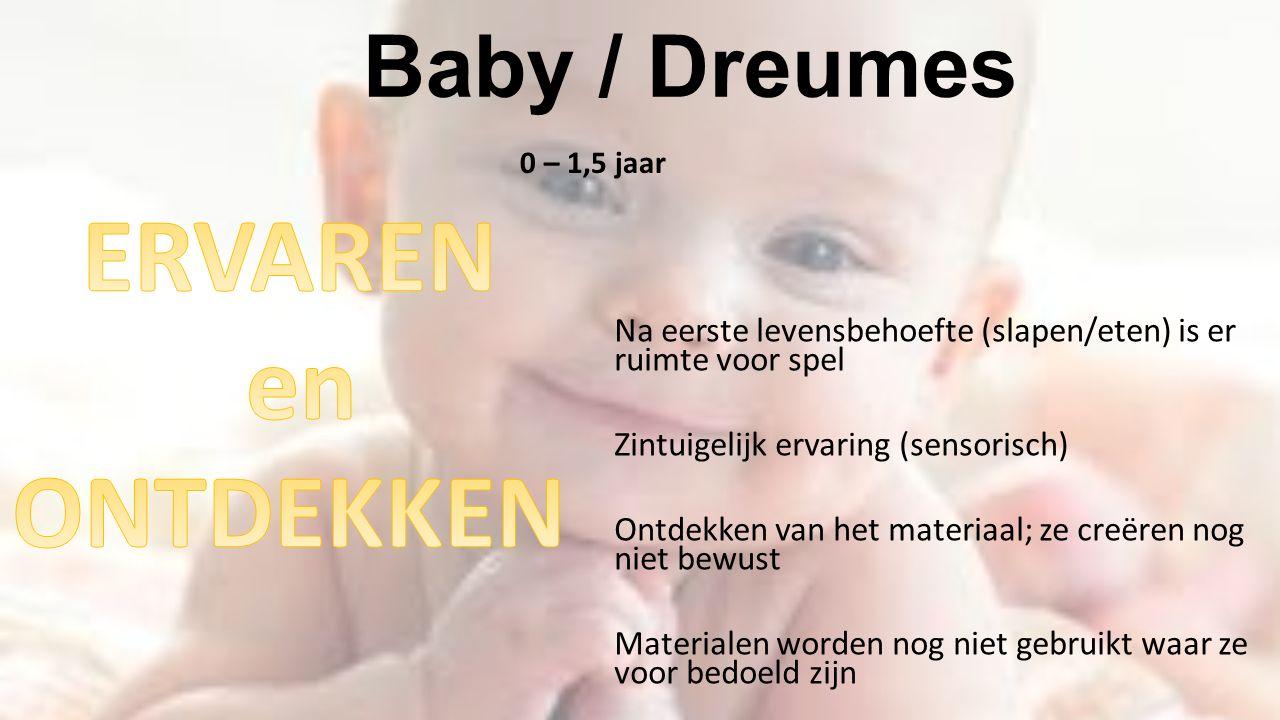 ERVAREN en ONTDEKKEN Baby / Dreumes