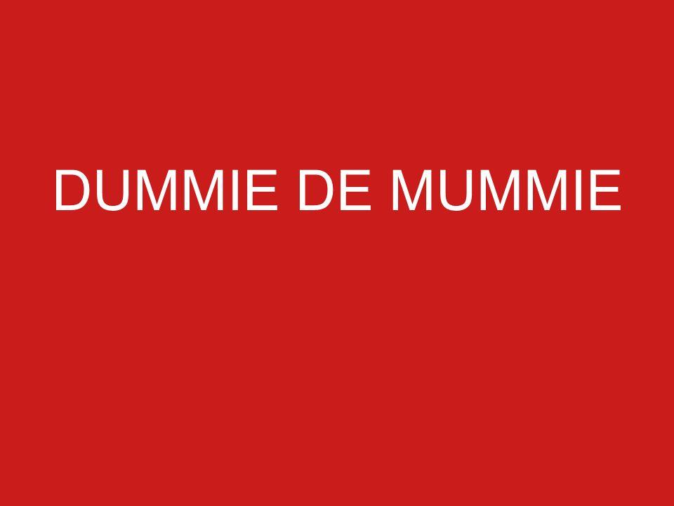 DUMMIE DE MUMMIE