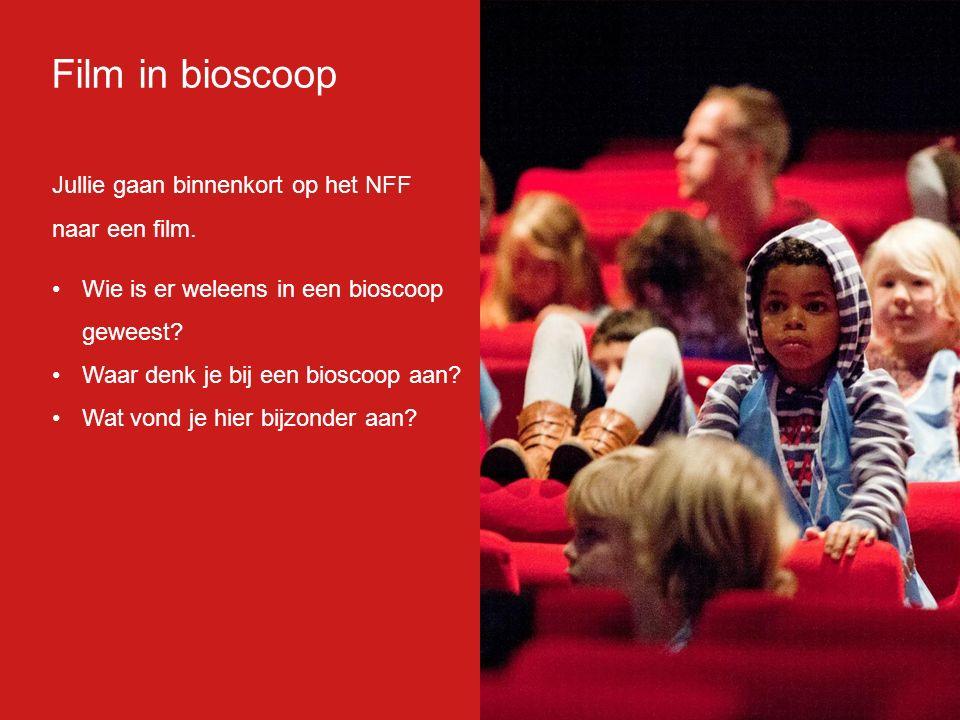 Film in bioscoop Jullie gaan binnenkort op het NFF naar een film.
