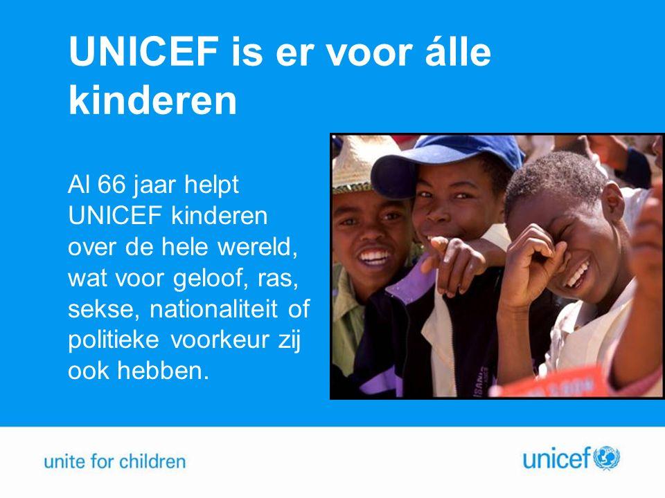UNICEF is er voor álle kinderen