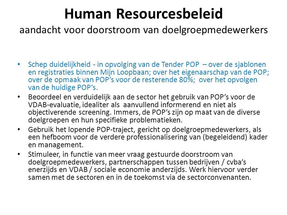 Human Resourcesbeleid aandacht voor doorstroom van doelgroepmedewerkers