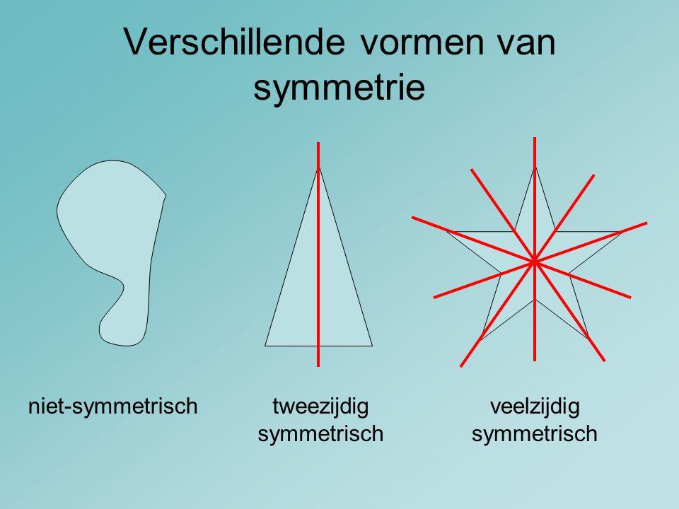 Verschillende vormen van symmetrie