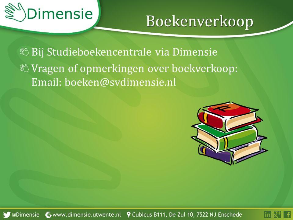 Boekenverkoop Bij Studieboekencentrale via Dimensie