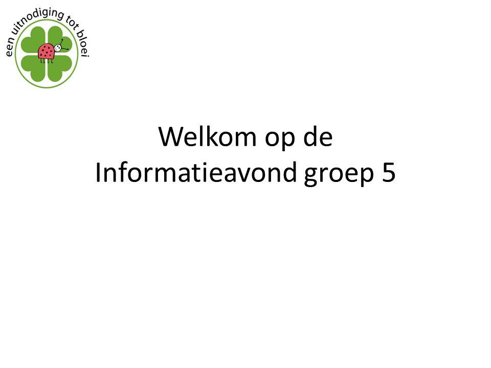 Welkom op de Informatieavond groep 5