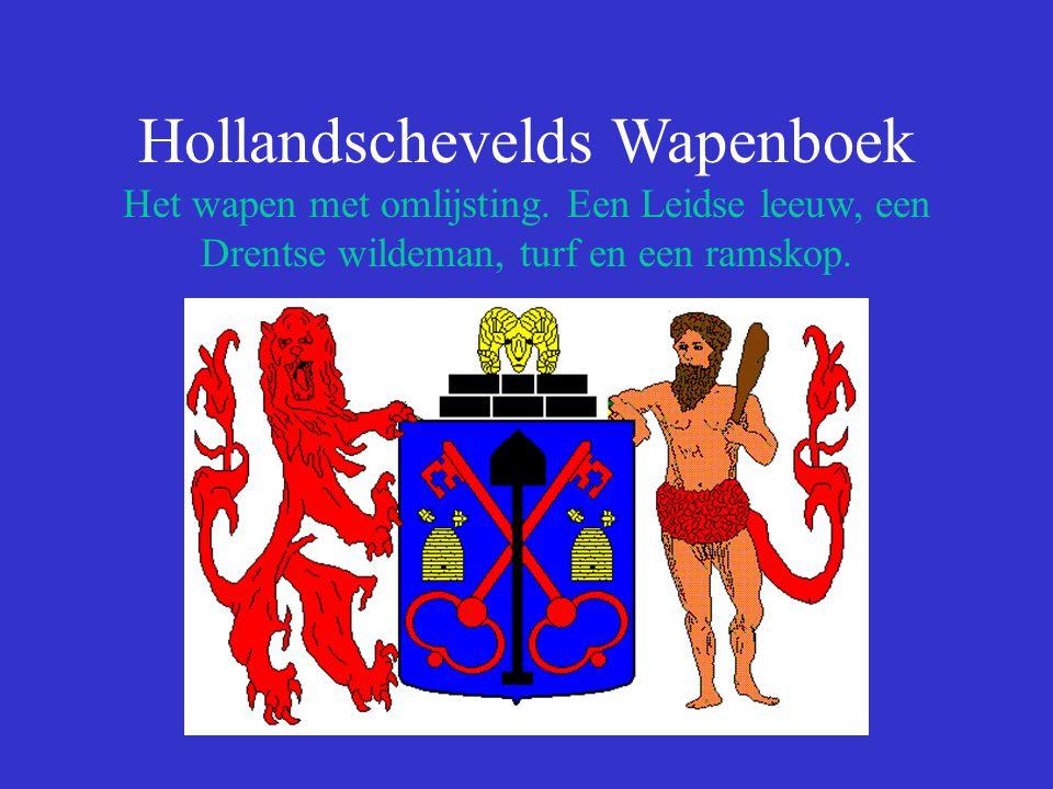 Hollandschevelds Wapenboek Het wapen met omlijsting