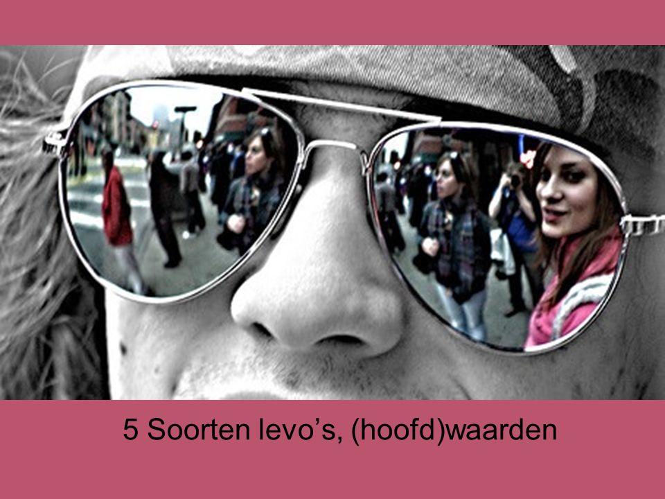 5 Soorten levo's, (hoofd)waarden