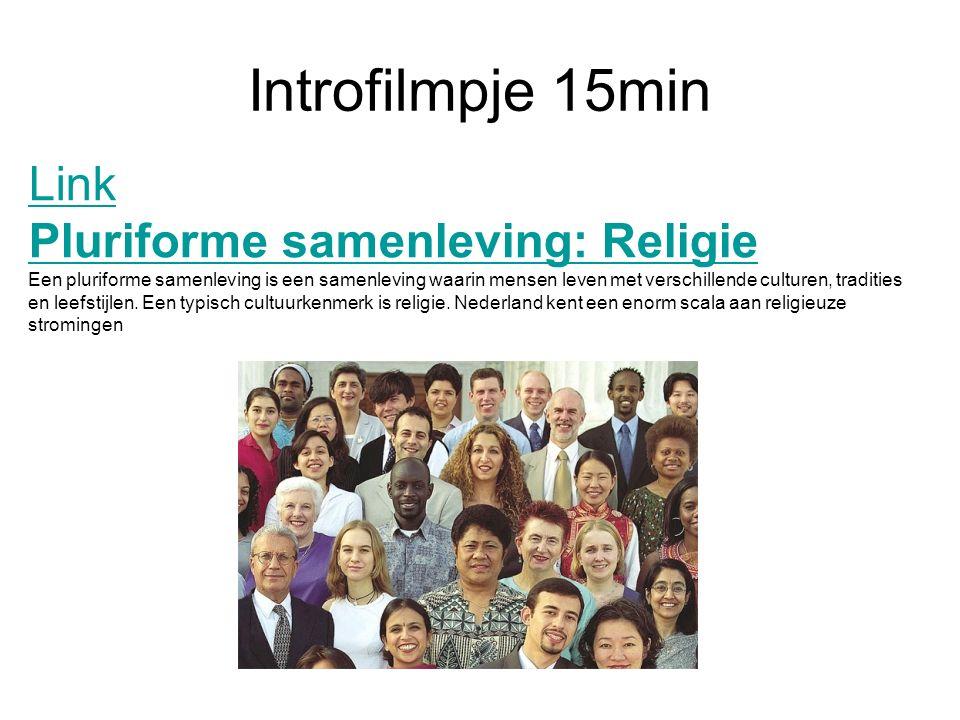 Introfilmpje 15min Link Pluriforme samenleving: Religie