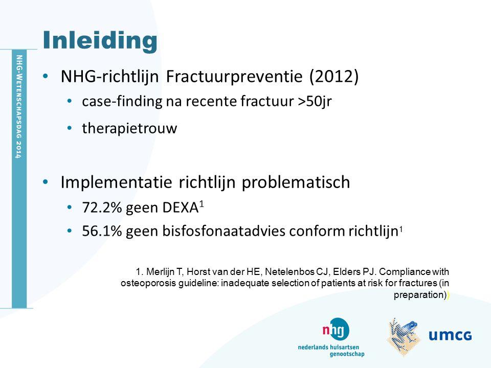Inleiding NHG-richtlijn Fractuurpreventie (2012)