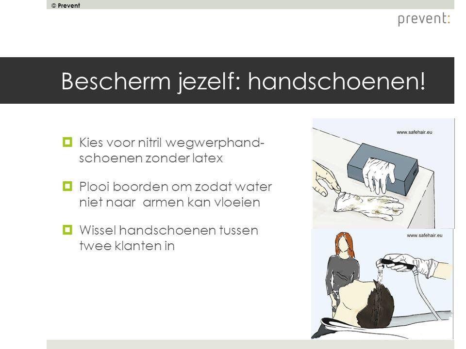 Bescherm jezelf: handschoenen!