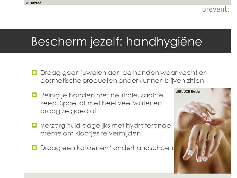 Bescherm jezelf: handhygiëne