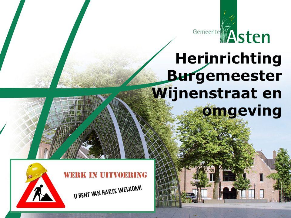 Herinrichting Burgemeester Wijnenstraat en omgeving