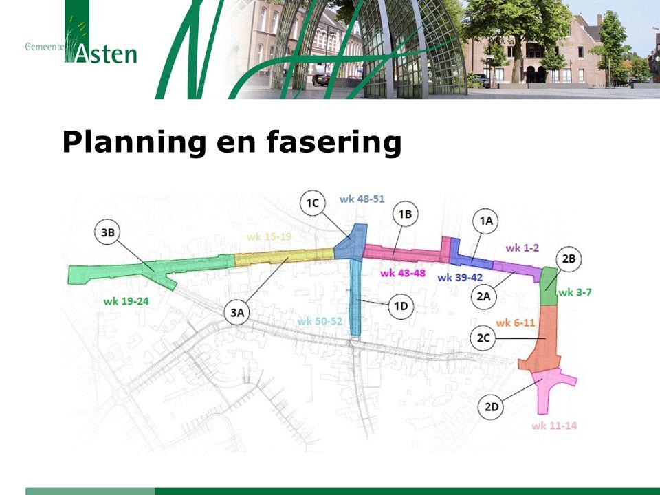 Planning en fasering GRP: wateroverlast in Burgemeester Wijnenstraat