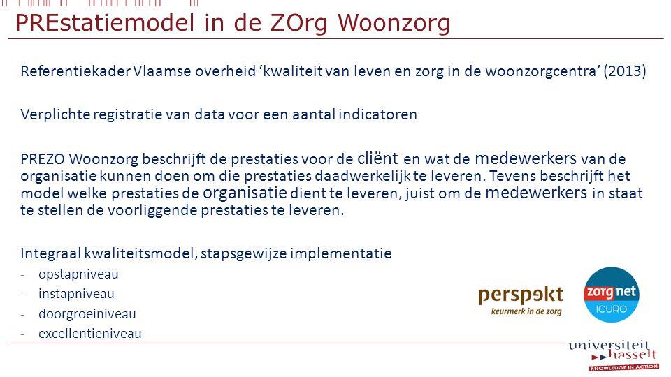 PREstatiemodel in de ZOrg Woonzorg
