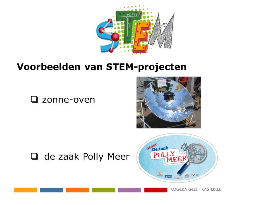 Voorbeelden van STEM-projecten