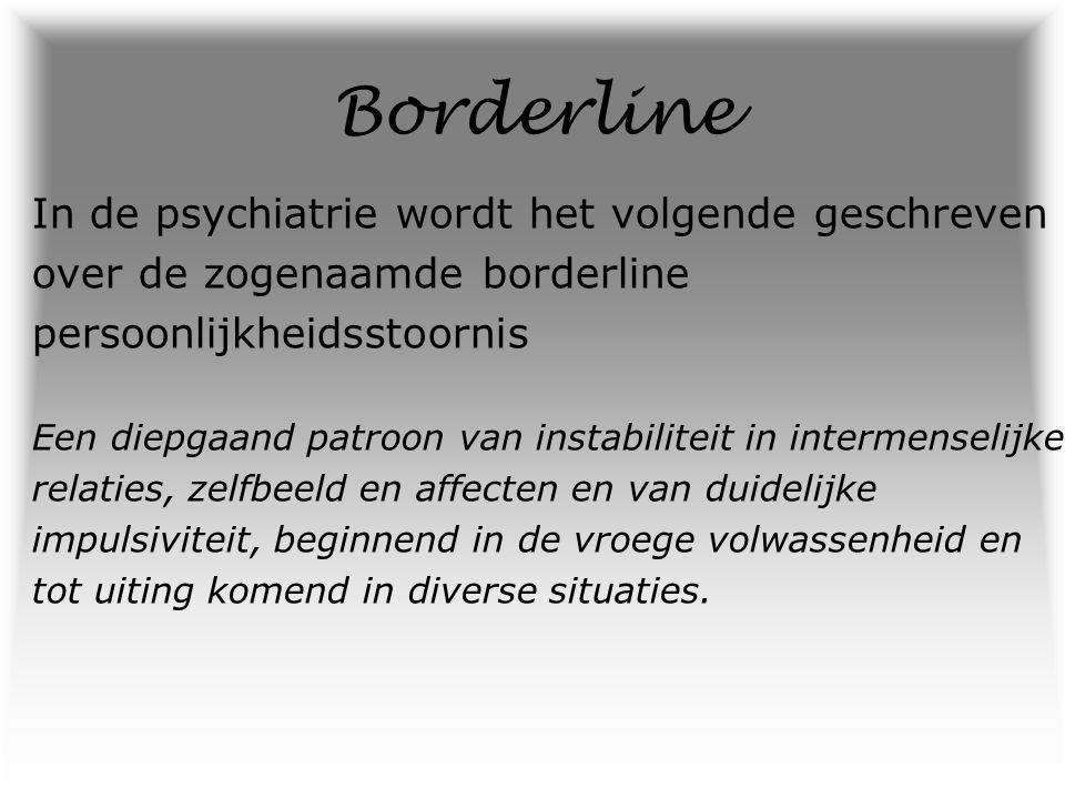 omgaan borderline persoonlijkheidsstoornis