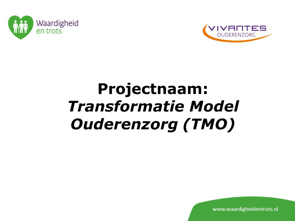 Transformatie Model Ouderenzorg (TMO)