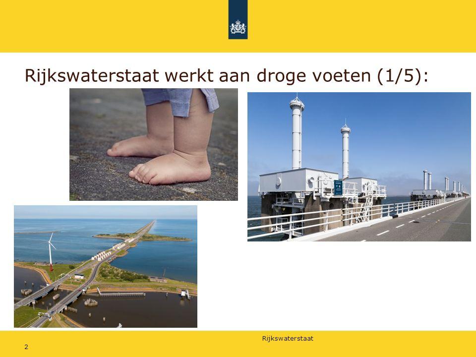 Rijkswaterstaat werkt aan droge voeten (1/5):