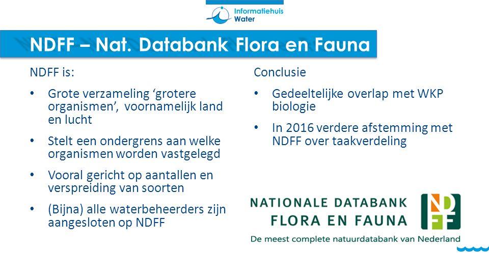 NDFF – Nat. Databank Flora en Fauna