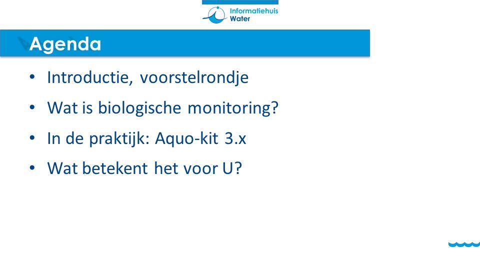 Introductie, voorstelrondje Wat is biologische monitoring