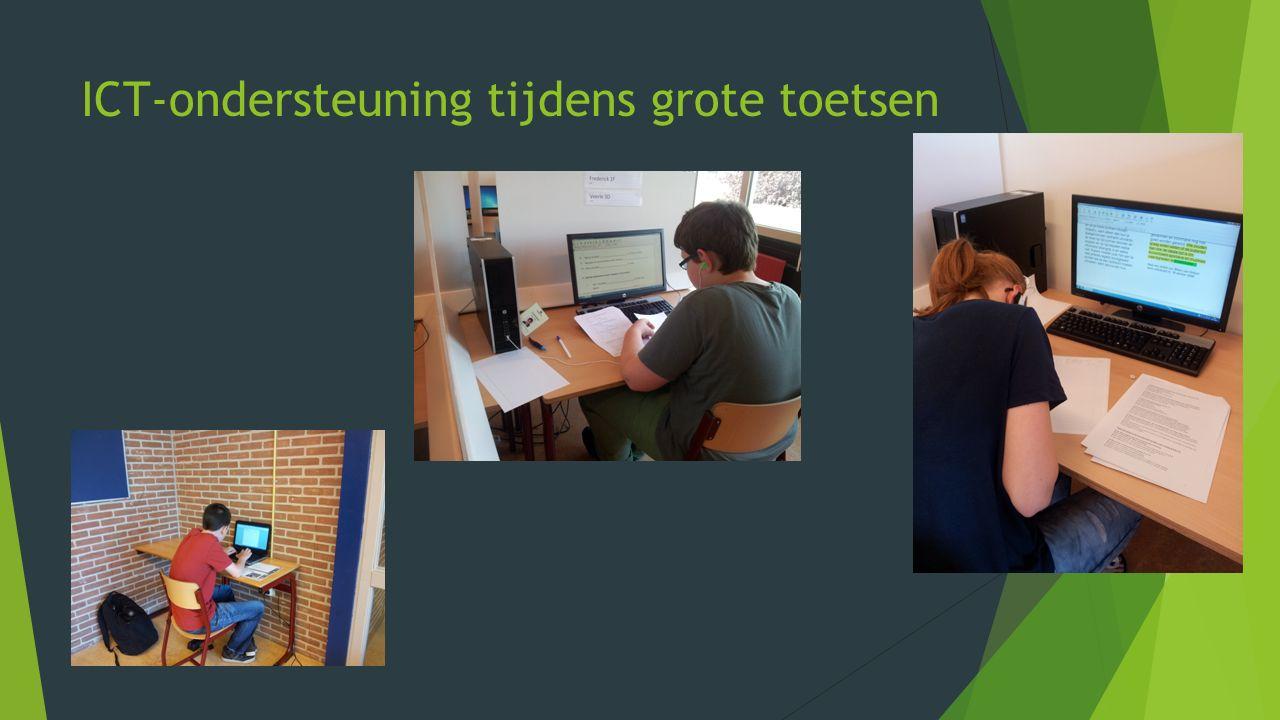 ICT-ondersteuning tijdens grote toetsen