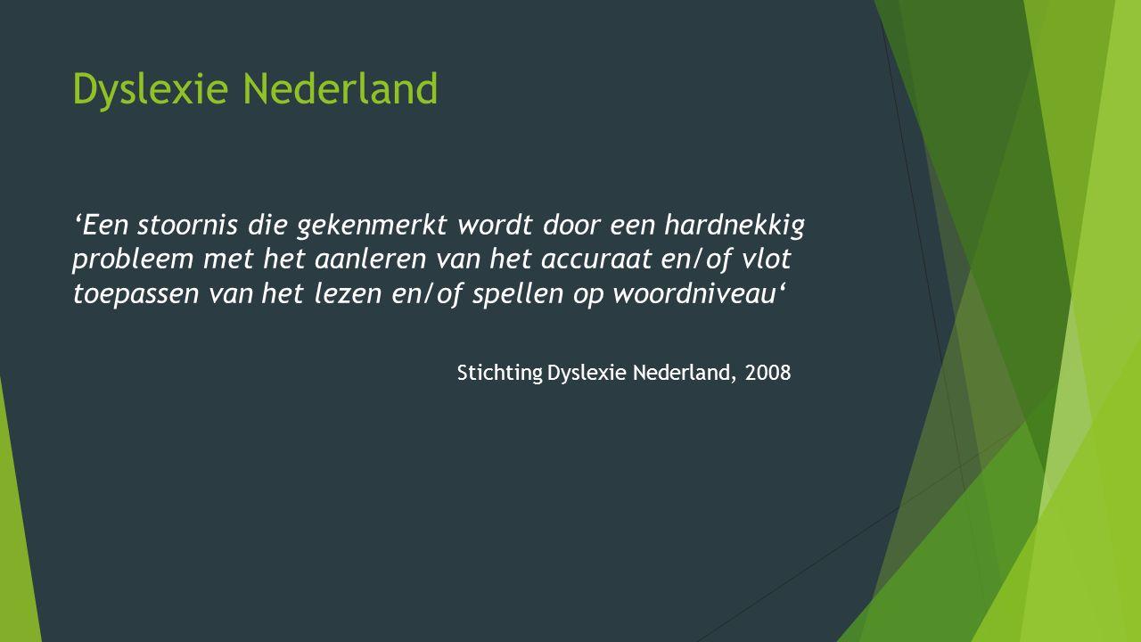 Dyslexie Nederland