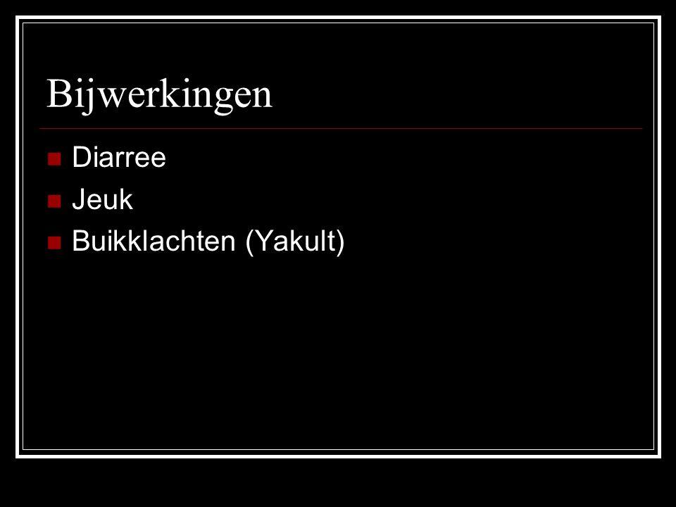 Bijwerkingen Diarree Jeuk Buikklachten (Yakult)