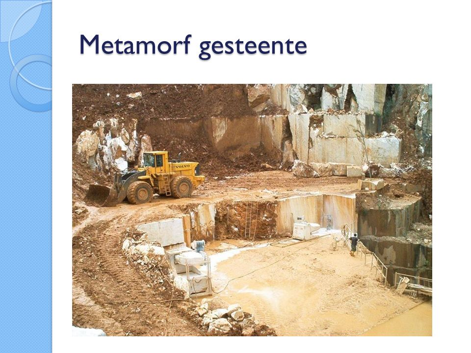 Metamorf gesteente