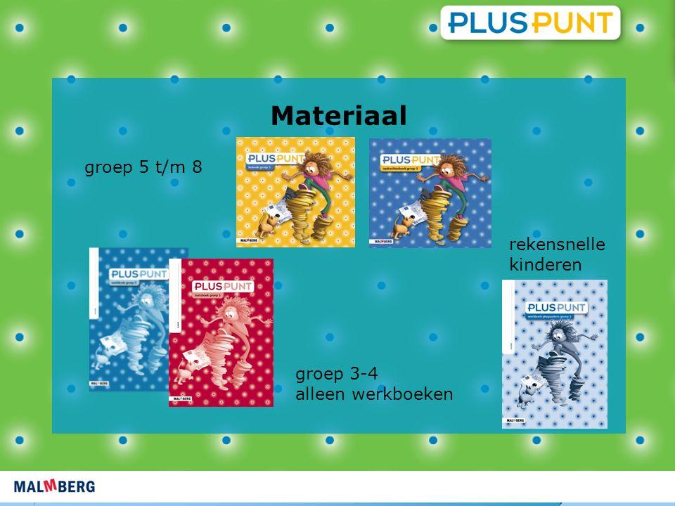 Materiaal groep 5 t/m 8 rekensnelle kinderen groep 3-4