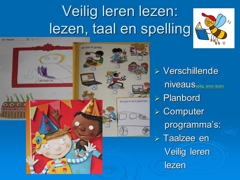 Veilig leren lezen: lezen, taal en spelling
