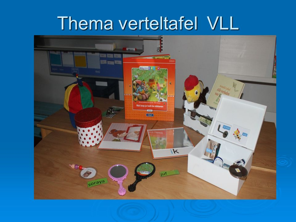 Thema verteltafel VLL Excursies