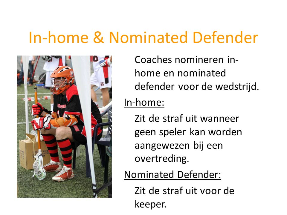 In-home & Nominated Defender