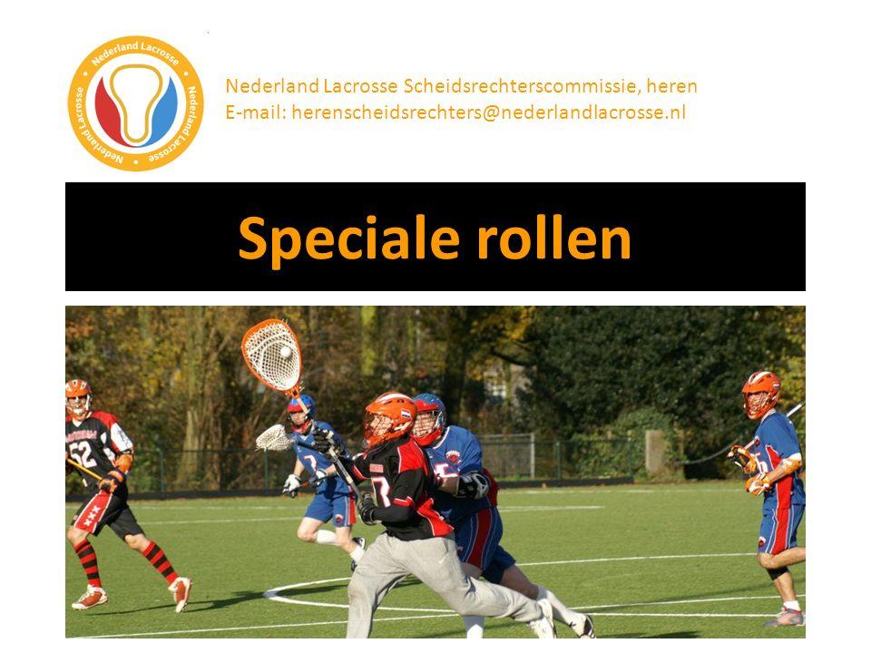 Speciale rollen Nederland Lacrosse Scheidsrechterscommissie, heren