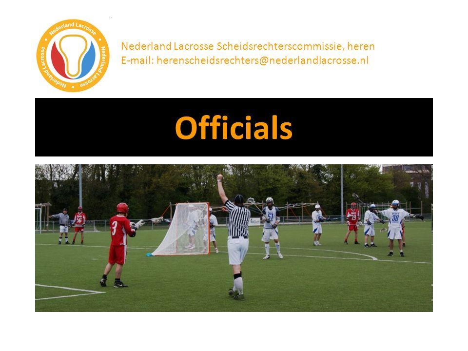 Officials Nederland Lacrosse Scheidsrechterscommissie, heren