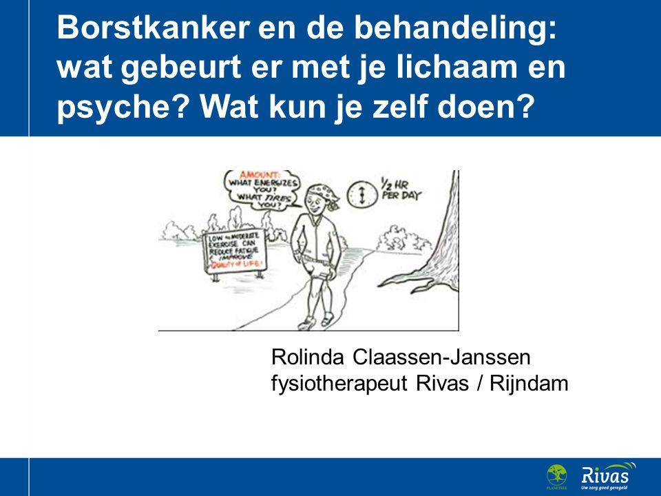 Rolinda Claassen-Janssen fysiotherapeut Rivas / Rijndam