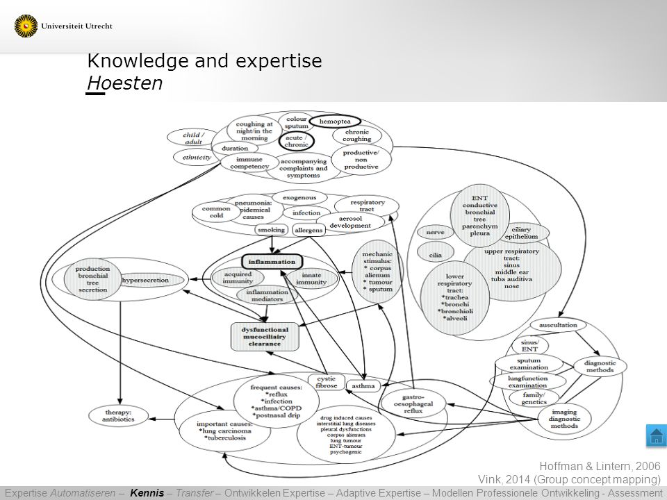 Knowledge and expertise Hoesten