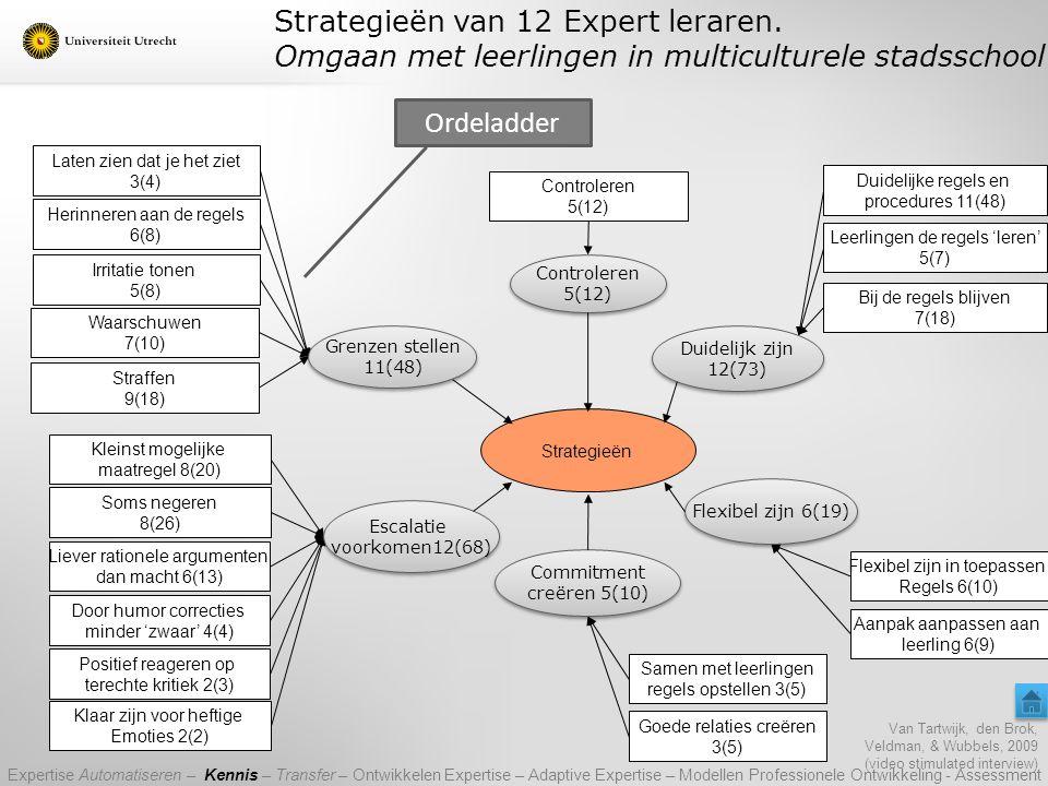 Strategieën van 12 Expert leraren