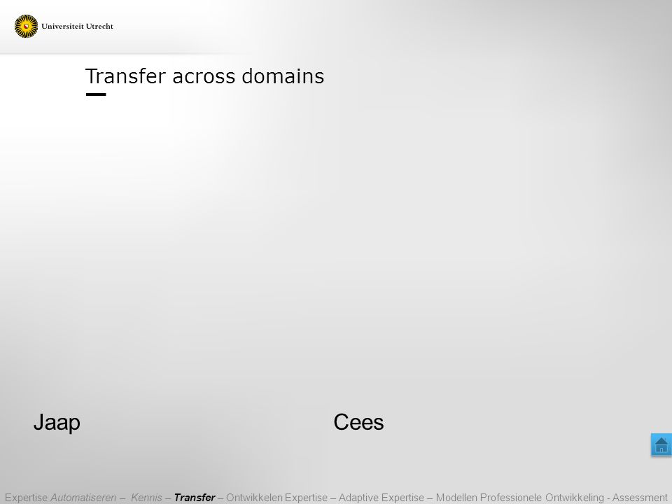 Transfer across domains