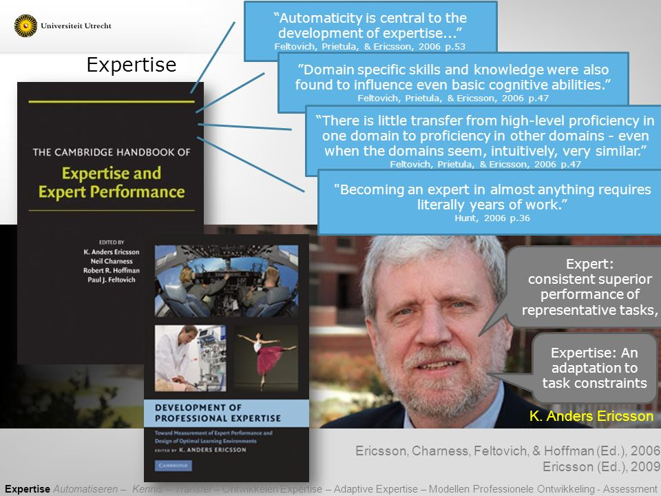 Expertise K. Anders Ericsson