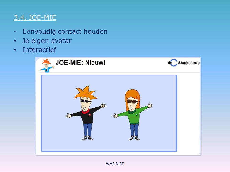Eenvoudig contact houden Je eigen avatar Interactief