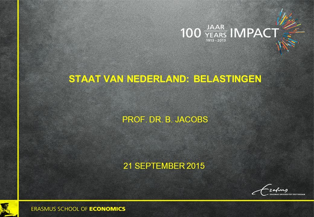 Staat van Nederland: belastingen