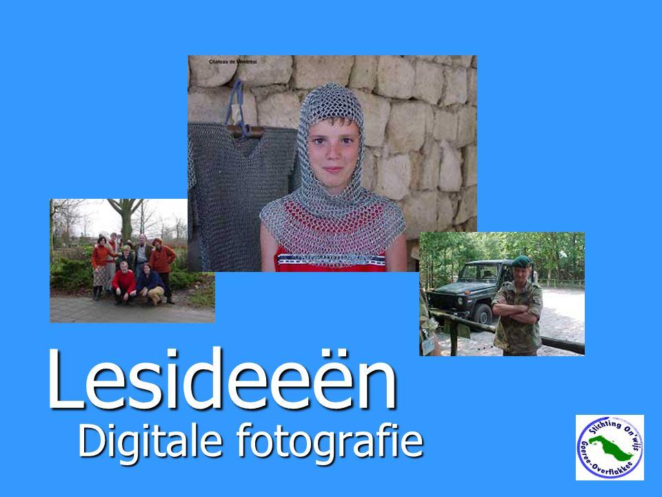 Lesideeën Digitale fotografie